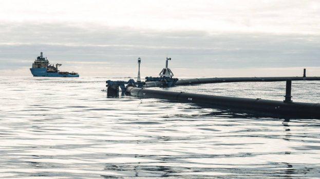 Műszaki hiba miatt szünetel a csendes-óceáni szemételtakarítás