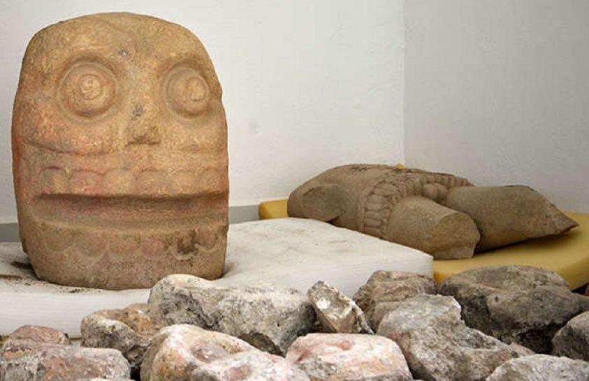 Különleges azték kultikus központot tártak föl Mexikóban