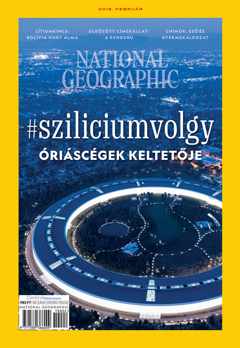 National Geographic Magazin - 2019. február