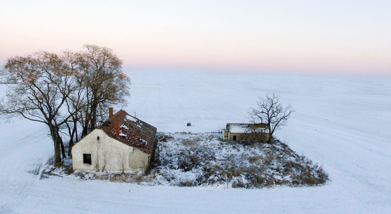A nap képe: Elhagyatott tanya