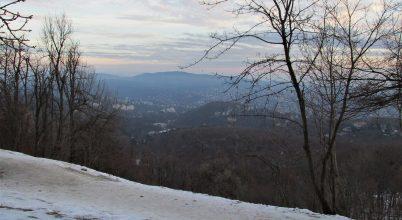 A Sváb-hegy és a János-hegy téli arca