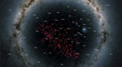 A déli égboltot beborító csillagfolyamot fedeztek föl