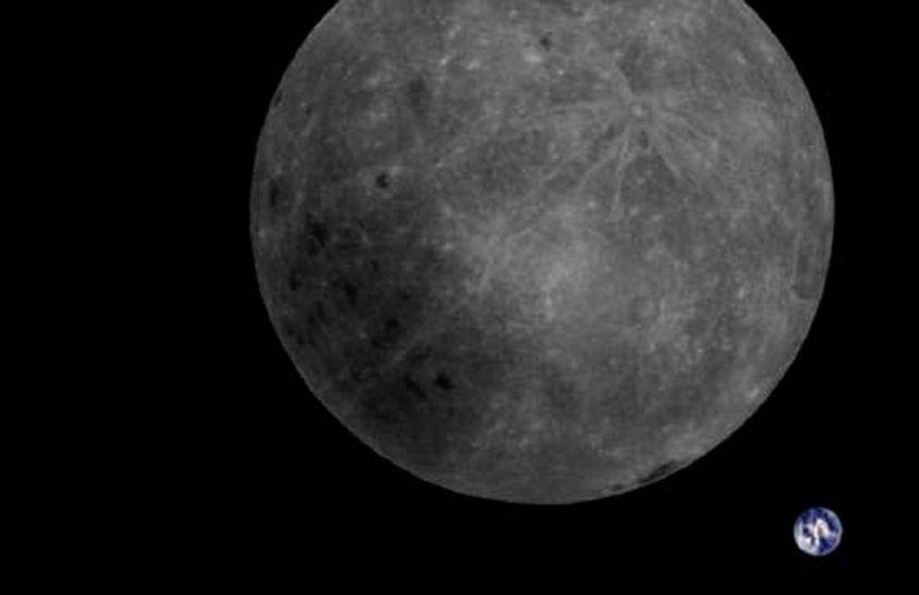 Látványos kép készült a Föld-Hold kettőséről