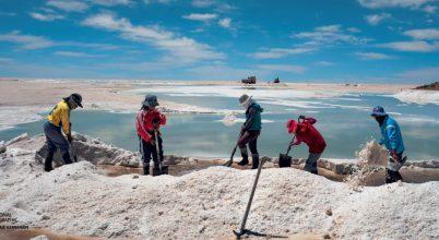 Lítiumláz Bolíviában