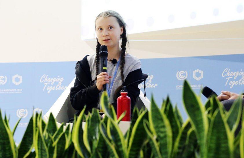 Egy tinédzser aktivista kemény szavakkal üzent a felnőtteknek