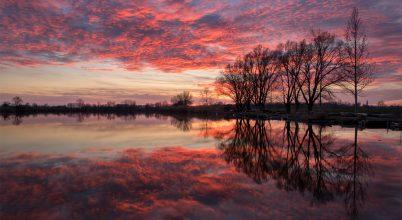 A nap képe: Vörös tükör