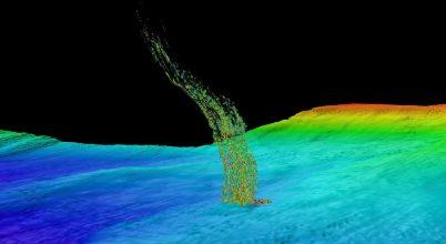 Metánszivárgás a csendes-óceáni partoknál