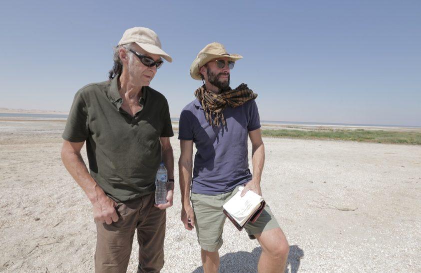 Egyiptomban Sir Ranulph Fiennes-zal