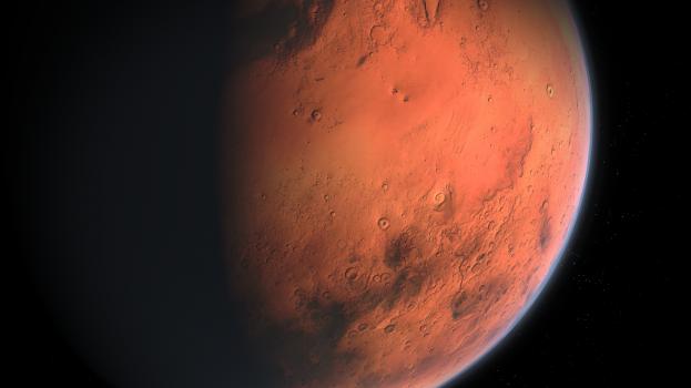 Hatalmas folyók kanyarogtak az ősi Marson