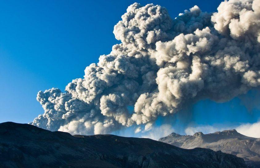 Vulkáni hamufelhők terjedése a változó klímában