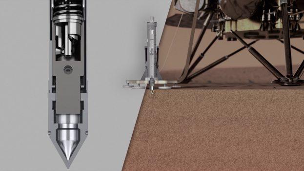 Leállt az InSight Mars mélyfúró kalapácsa