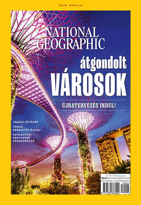 National Geographic Magazin - 2019. április