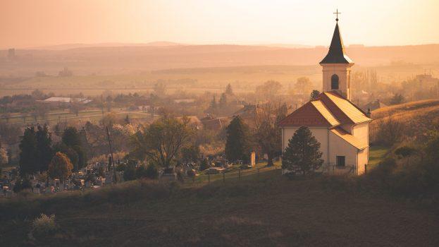 A nap képe: Nyugalom a község határában