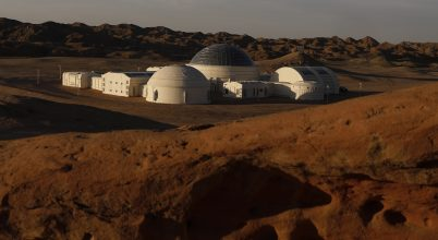 Mars-bázis a Góbi-sivatagban