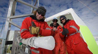 A klíma mélyére fúrnak az Antarktiszon