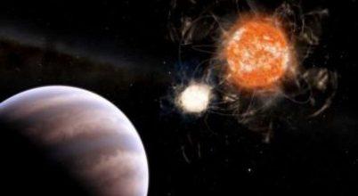 Hatalmas bolygó befolyásolja két csillag mozgását