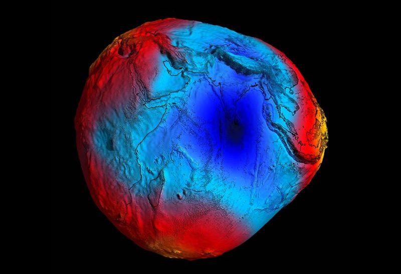 A gravitációs anomália okát keresi egy indiai kutatócsoport