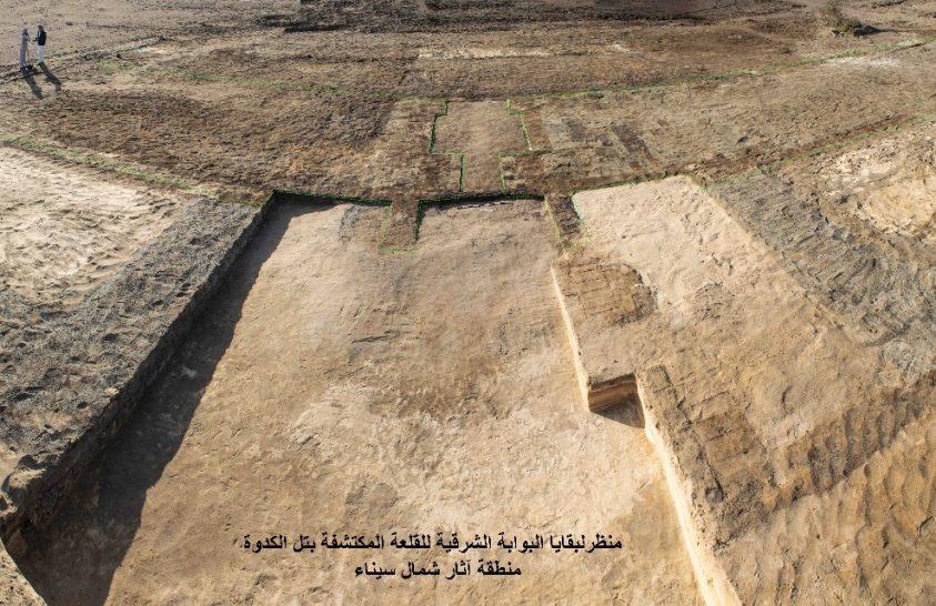 Ókori erődítményt tártak föl Egyiptomban
