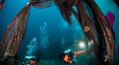 Hulladék halászhálóktól szabadították meg az Égei-tenger lakóit