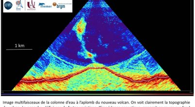 Tenger alatti vulkán született Mayotte közelében