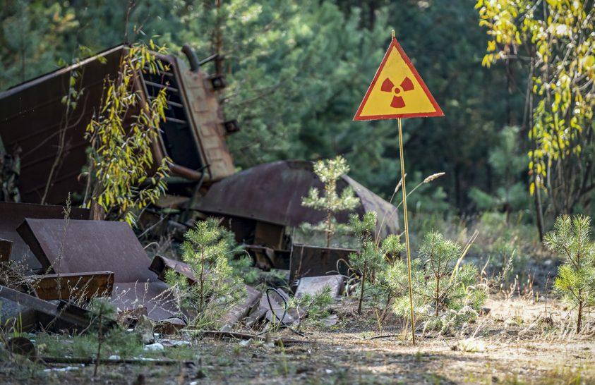 Drónnal mérték föl a csernobili erdő radioaktív zónáit