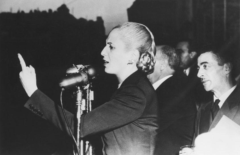 Argentína első női politikusa