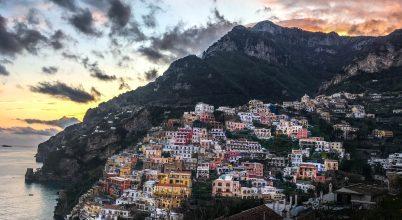 Istenek ösvénye az Amalfi-parton