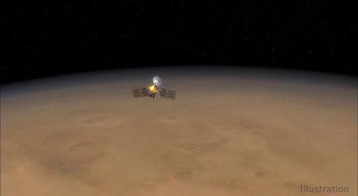 Mérföldkőhöz érkezett a NASA Mars-szondája