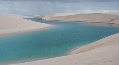 Időszakos szabadstrand a sivatagban – a természet csodája
