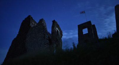 Somlói vár (Holdfényben)