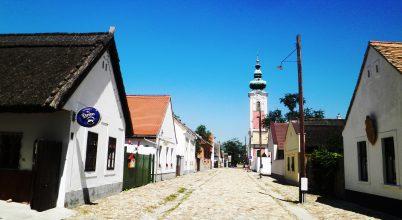 Rác utca, a skanzen Székesfehérváron