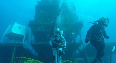 Űrhajóstréning a tenger mélyén
