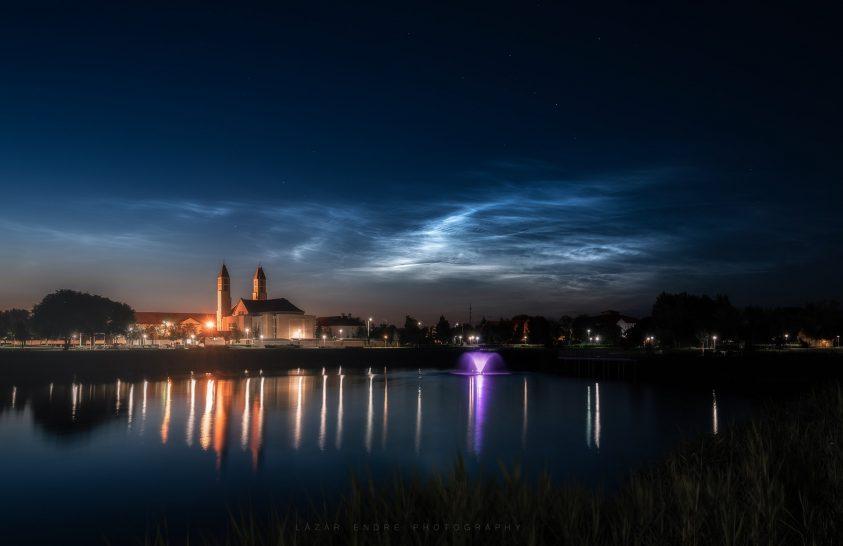 2019. június asztrofotója: Világító felhők Matyóföld fővárosában