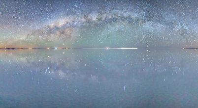 Csillagözön a Salar de Uyuni-n