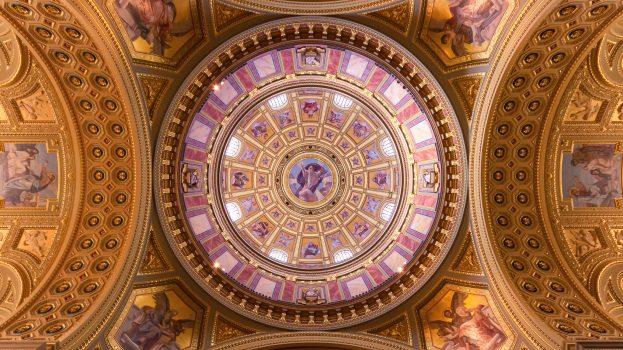 A nap képe: Szent István bazilika kupolája.