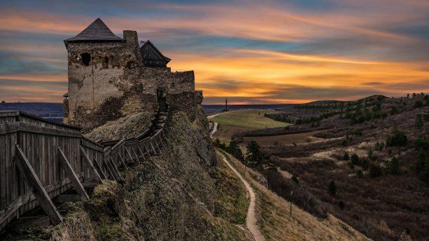 A nap képe: Boldogkői vár