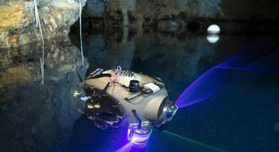 Autonóm búvárrobot tesztelése a budapesti Molnár János-barlangban