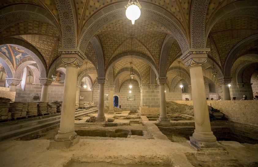 Hajdani uralkodó eredeti sírhelyét találhatták meg Pécsett