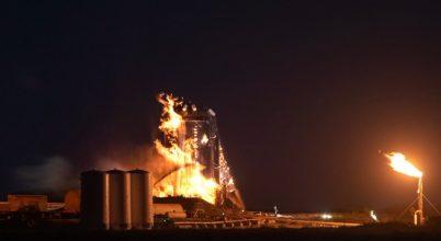 Lángba borult a SpaceX űreszköze