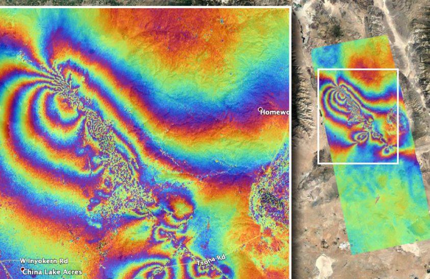 Műholdról mérték meg a kaliforniai földrengés hatását