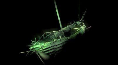 Kivételes állapotú hajóroncsot találtak