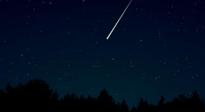 Rendkívül fényes meteor tűnt föl az égbolton
