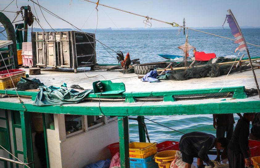 Sandakan mélyvízi halászai és a tengeri szellemek legendája