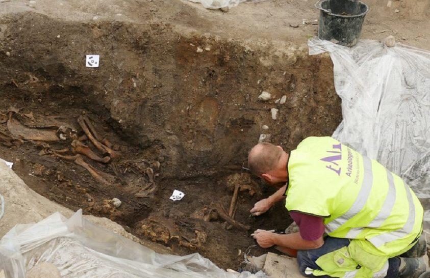 Kivételes állapotú viking sírra bukkantak