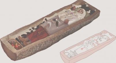 Előkelő kelta nő sírjára bukkantak