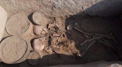 4000 éves szerelmespár sírját azonosíthatták