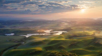 A nap képe: Napkelte a Medvesalján