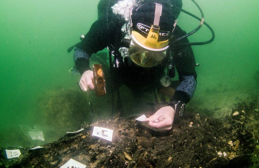 Kőkori hajóépítő műhely maradványait azonosították a tengerben