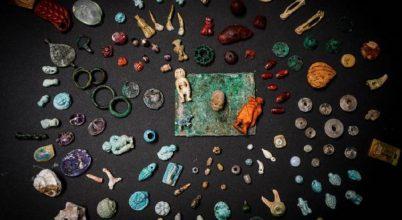 Páratlan amulettgyűjteményre bukkantak Pompeiiben