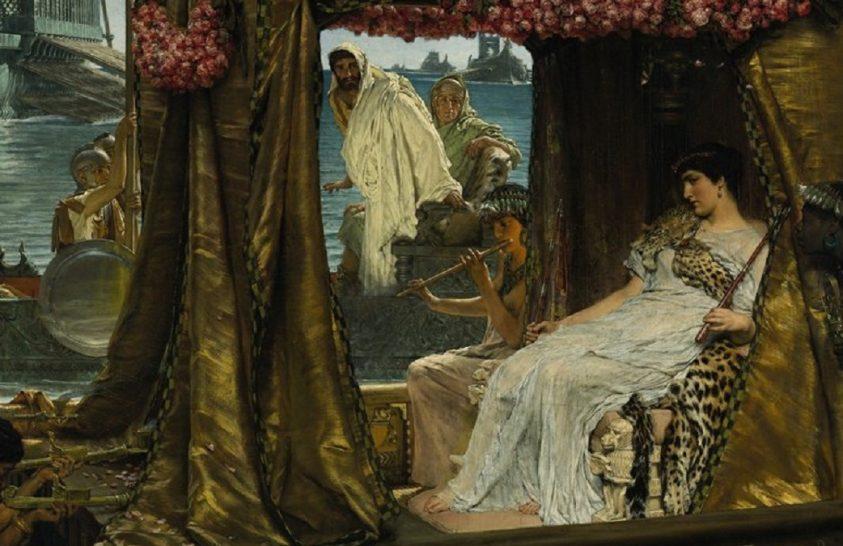 Létrehozták Kleopátra parfümjét